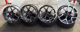 "Genuine Vauxhall VXR 20"" inch Alloy wheels ASTRA fitment PCD 5X115"