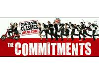 2× commitments tickets for the Bord Gais theatre Dublin. On the 22/October2016