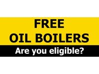 Free Oil Boilers - Fully Government Funded