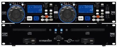 img Stage Line CD-230USB - DJ-Dual-CD- und MP3-Spieler mit USB2.0, SD/MMC-Card