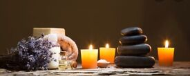 English female massage therapist