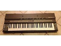 ELKA TWIN 61 Vintage Analog Italian Synth Polyphonic Keyboard VERY RARE