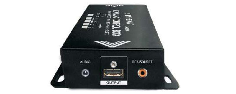 Shinybow Sb-5610 Hdmi Audio Extractor-arc-spdif-analog Stereo Control Box