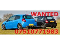 **WANTED MEGANE F1/230/225 SPORTS /CLIO 182/197 SPORTS GOOD PRICES PAID**-172,182,Vxr,r32,F1,230,225