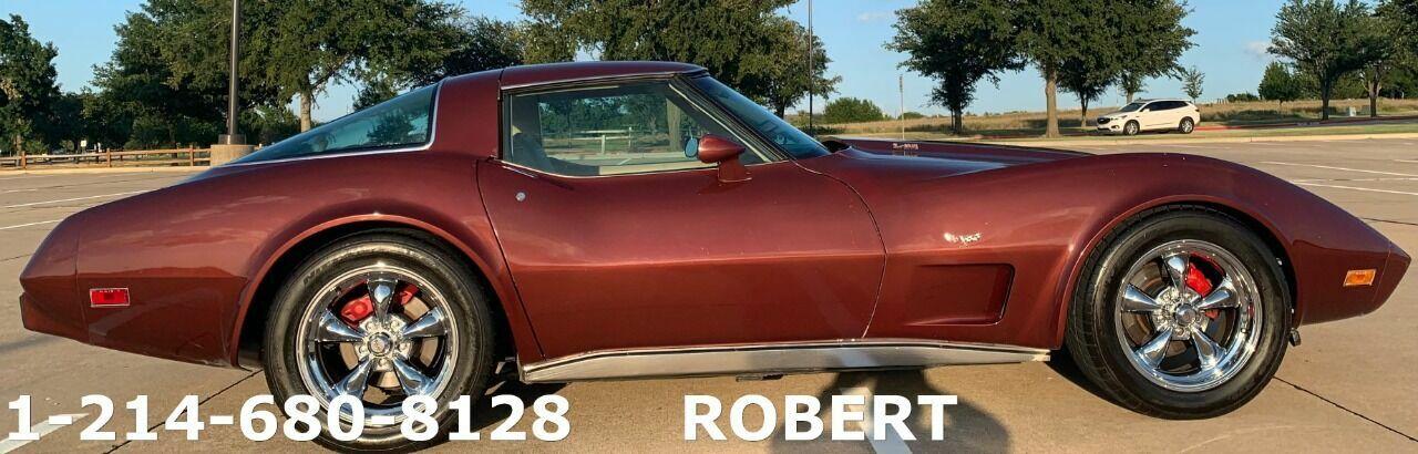 1978 Burgundy Chevrolet Corvette   | C3 Corvette Photo 1