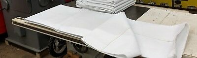 One New Singed Polyester Baghouse Sock Filter 96 Long X 10 Dia