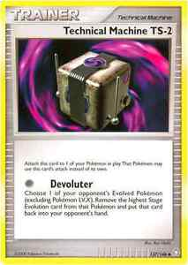 POKEMON TECHNICAL MACHINE TS-2 137/146 CARD DIAMOND AND PEARL LEGENDS AWAKENED