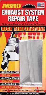 Abro Car Exhaust System Silencer Pipe Self Adhesive Foil Repair Tape Flexiwrap