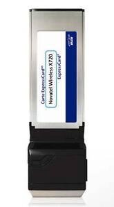 Novatel Wireless X720 Express Card for Bell