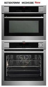 "https://aniks.ca/ Aeg BS730470MM-MCD4538E 24"" Steam Wall Oven Microwave Combo The German Brand Seamless"