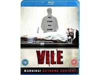 Vile (shock horror film) BLU-RAY