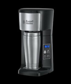 Russell Hobbs Brew & Go Coffee Maker - includes free jar of Costa Coffee - RRP £32.99