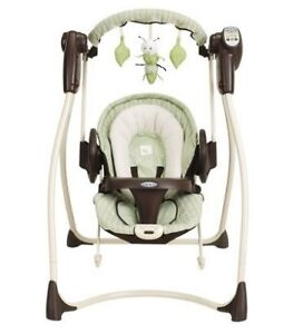 Plugin Swing , car seat, stroller, tricycle, high chair table