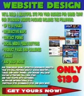 Business website from $199