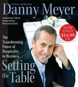 Danny Meyer - Setting the table - great book about food industry Erskineville Inner Sydney Preview