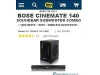 Bose Cinemate 140 Combo New 2017 model
