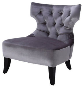 Grey Audrey accent chair from Urban Barn
