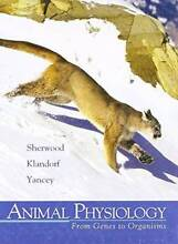 Animal Physiology from Genes to Organisms Hunters Hill Hunters Hill Area Preview