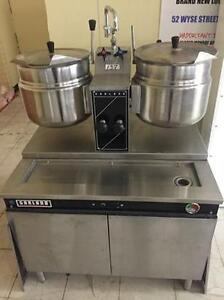 Garland Double Steam Jacketed kettle