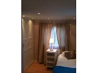SHORT OR LONG TERM DOUBLE ROOM WITH ENSUITE BATHROOM, 3 MIN ALK TOTTENHAM HALE TUBE, PROFESIONALS, C
