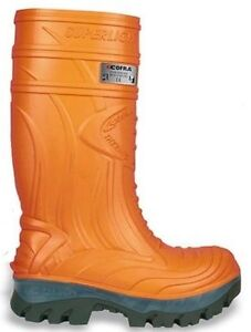 Cofra Thermic Orange EH PR Insulated Rubber Boot - Men's 7 Wide
