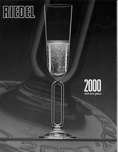 Riedel Crystal 2000 millennium pair champagne series pair West Island Greater Montréal image 1