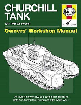 Churchill Tank Haynes Manual H5232 NEW