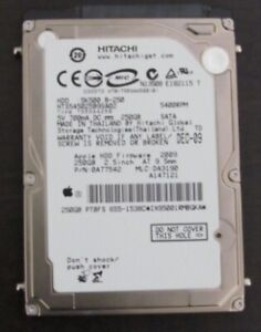 "Disque Dur Hitachi 250go 2.5"" 5400RPM  SATA Hard drive"