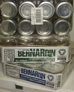 Boxes of Canning Jars - Bernardin, etc.