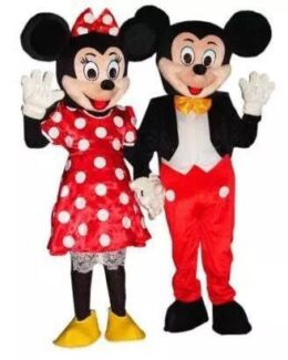 Rent hire Mickey or Minnie Mouse costume mascot birthday party Bexley Rockdale Area Preview