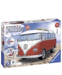 Cool Volkswagen T1 Puzzle from Germany - 3D!