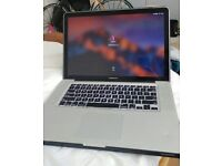 "Macbook Pro 2011 15"" i7 2Ghz Quad Core 16gb RAM 256GB SSD - Very good condition"