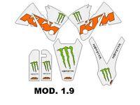 KIT KTM SX EXC 2000, 2001, 2002 Sticker best quality.