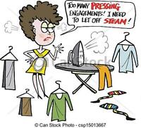Pressed for Success Ironing Service