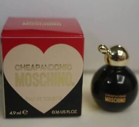 Brand New Boxed Cheap and Chic Moschino Eau De Toilette 5ml