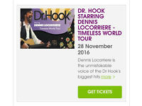 Dr Hook tickets. Waterfront Hall