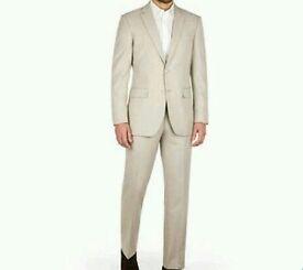 Brand new cream next 2 piece suit