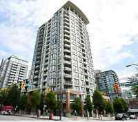 Furnished Penthouse 1bdrm+den near Yaletown avail June 1st, 2015