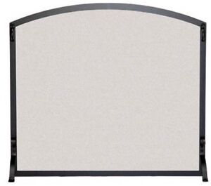 foyer / Pilgrim Hearth Arched Single Panel Wire Mesh Fireplace