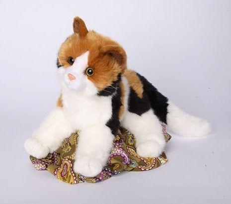 Stuffed Calico Cat Ebay