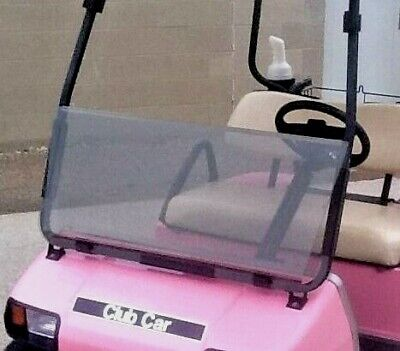 Golf Cart** TINTED FOLDING WINDSHIELD ONLY** for- Club Car DS 2000-up Models