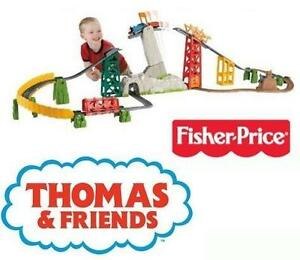 NEW FP THOMAS TANK TRACKMASTER SET - 96147456 - FISHER PRICE THOMAS AND FRIENDS AVALANCHE ESCAPE SET - KIDS TOYS GAMES
