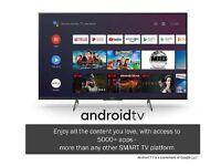 Sony BRAVIA KD43XH8196BU 43 inch 4K Ultra HD HDR Smart LED Android TV YouView