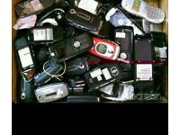 Wanted Old mobile phones
