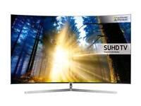 "Samsung 65"" LED, Smart, Curved, Quantum Dot TV"