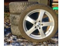 Winter tyres and alloy wheels - suitable for Audi/VW etc