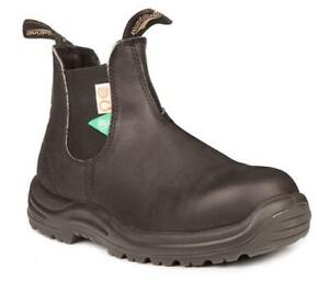 Safety Boots - Blundstones Womens USA Size 7 - Black