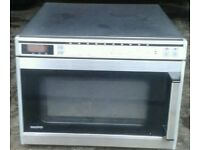 Sanyo industrial microwave can deliver