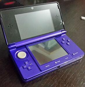 Nintendo 3DS - Midnight Purple + Pokemon Omega Ruby
