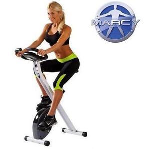 NEW MARCY FOLDABLE EXERCISE BIKE - 114290614 - FOLDABLE UPRIGHT EXERCISE BIKE